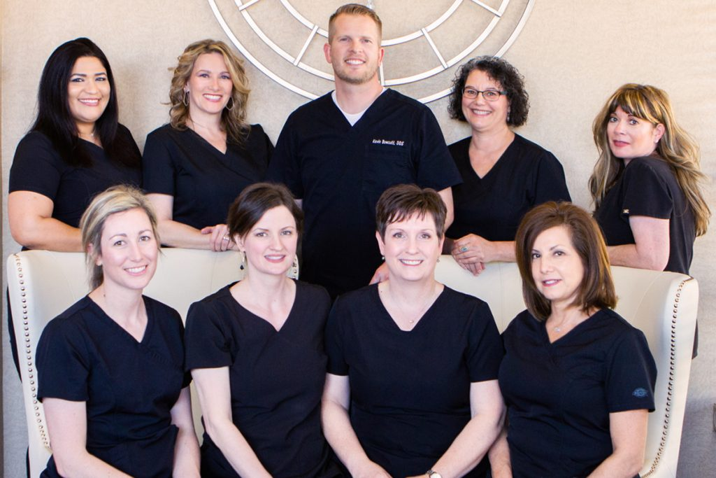 Bowcutt Dental Doctor and Team at the dental office in Cedar Park, TX